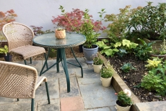 After - Alternative seating area, great for summer evenings to watch the sun go down.