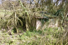 there were a number of outbuildings that the client did not want to retain